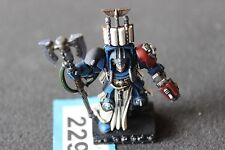 GAMES Workshop SPACE HULK TERMINATOR Librarian ben dipinti Blood Angel WH40K