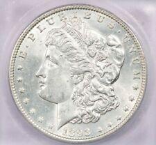 1893-P 1893 Morgan Silver Dollar ICG MS62