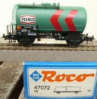 Roco 47072 Kesselwagen TEXACO 2-achsig der DB Epoche 4/5 neuwertig in OVP,für AC