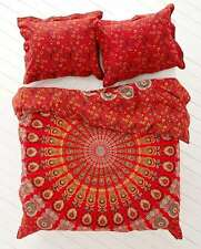 Hippie Indian Mandala Bed Cover Dorm Decorative Bed Sheet Bedding Set Tapestry