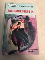 The Saint Steps In Leslie Charteris 1963 Hodder