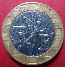 *FRANCE, Vintage 1988  10 FRANCS COIN, Republique Francaise, NICE Pre-EURO COIN