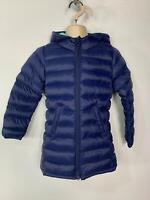 BNWT GIRLS MOUNTAIN WAREHOUSE BLUE WINTER PADDED RAIN COAT JACKET KIDS AGE 2/3