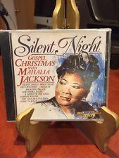 Silent Night - Gospel Christmas With Mahalia Jackson (1990,CD, Laserlight) New