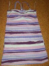 Langes T- Shirt lila weiß gestreift Größe 164 Top Zustand