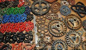 105 water valve faucet handles iron spigot steampunk industrial art