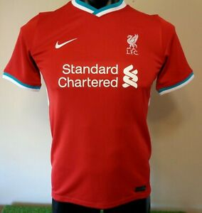 NIKE STADIUM DRI-FIT LIVERPOOL FC HOME JERSEY 2020/21 YOUTH SMALL BRAND NEW
