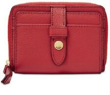 cBNWT - Fossil Fiona Poppy Red Small Coin Purse