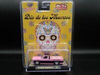 2020 M2 MACHINES 1973 CHEVY CUSTOM 10 SQUARE BODY TRUCK DIA DE LOS MUERTOS MIJO