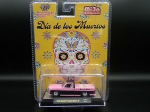 2020 M2 MACHINES 1973 CHEVY CUSTOM 10 SQUARE BODY TRUCK DIA DE LOS MUERTOS MIJO