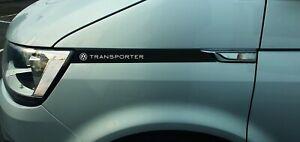 VW T6 Transporter Vinyl Wing Decal Sticker,Volkswagen Camper,
