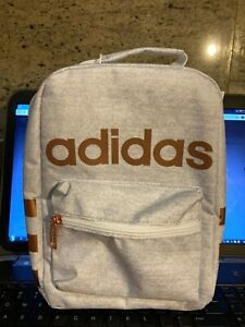 Adidas Santiago Girl's Insulated Lunch Bag - Jersey/Rose - God/White