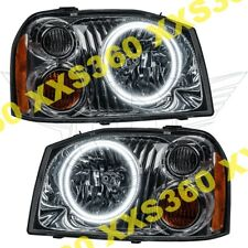 ORACLE Halo HEADLIGHTS For Nissan Frontier 01-04 WHITE LED Angel Demon Eyes