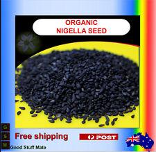 AU SELLER ORGANIC Nigella Seeds Very High Quality Kalonji Barakah Black Cumin