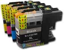 4 LC225XL + LC227XL Ink Cartridges For Brother DCPJ4120DW MFCJ4420DW non-OEM