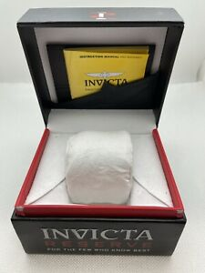 Invicta Reserve Watch Box W/ Papers & Pillow