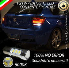 LAMPADA RETROMARCIA 15 LED P21W BA15S CANBUS PER BMW SERIE 1 F20 6000K NO ERROR