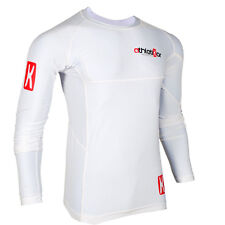 Kompressions T-Shirt in Premiumqualität_Spezielles Strechmaterial_Farbe weiss