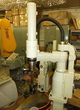 Adept 550 Robot 60554-00190  Quill /  Ball Spline Assy, w/ Harmonic Drive Gear