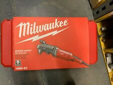 "*NIP* MILWAUKEE 1680-21 1/2"" SUPER HAWG WITH CARRYING CASE"
