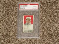 Doc Crandall T206 Piedmont With Cap Iconic Set 1909 New York Giants PSA 2 2.5 GD