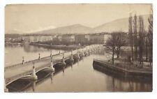D009 Photographie vintage original Suisse 1873 Albuminé Albumen