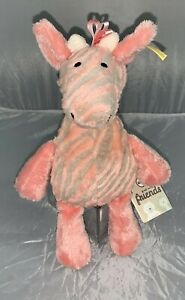 Steiff - 240393 Soft Cuddly Friends Giselle Bell Giraffe New With Tags