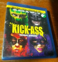 Kick-Ass Blu-Ray + DVD 2010 3-Disc Set Includes Digital Copy Superhero Lot THREE