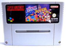 SNES juego-Tetris & Dr. mario (módulo) (PAL)
