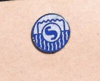SHURE Super 55 Microphone, Single Replacement Logo Decal - Shure Part # 39A13A