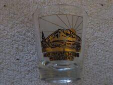 MOUNT ST. HELANS Souvenir Shot Glass  *FREE SHIPPING* ..USA