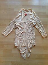 Tolle Damen Designer Strickjacke von Olsen Größe small 36 gestreift sandfarben