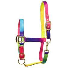 Rainbow Adjustable Headcollar horse full