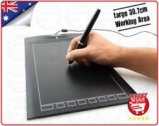 Graphics Tablet Pad USB 4000lpi Design Painting Drawing Art Signatures 30.7cm