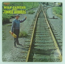 WILF CARTER Sings Jimmie Rodgers SEALED Montana Slim RARE Canada Country LP