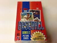 1994 TOPPS BASEBALL SERIES 2 FACTORY SEALED 36 CT BOX