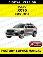 Volvo XC90 2002-2014 Factory Service Repair Workshop Manual + Wiring Diagrams
