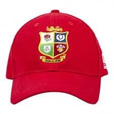 Oficial británico & Irlandés Leones NZ 2017 Tour gorra roja de baseball, Tamaño Adulto @ £ 12