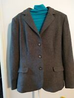VINTAGE AQUASCUTUM JACKET SIZE 10, 100% WOOL, SMART, EQUESTRIAN, OUTDOORS.
