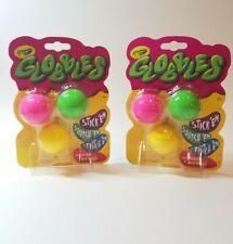 (2) CRAYOLA GLOBBLES CEILING BALLS, Yellow Pink Green Jukers TIKTOK, (2) 3 Packs