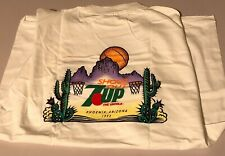 "Vintage Retro 7 UP Advertising ""7 UP Shootout 1993"" White T Shirt Size XL *NEW*"