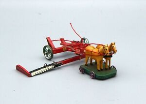 Germany, Old Coupling Mower of The Farm Wood, Rare, Years 1910