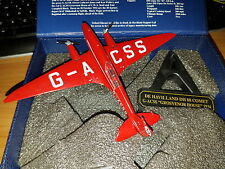 DeHavilland DH 88 Comet G-ACSS - Scala 1:72 Die Cast - Oxford Aviation - Nuovo