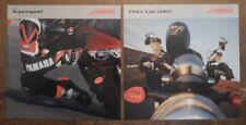 YAMAHA SUPERSPORT orig 2004 UK Mkt Sales Brochure + Price List - YZF-R1 R6