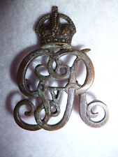 The Norfolk Yeomanry Large Size Bronze Officer's Cap Badge, George V