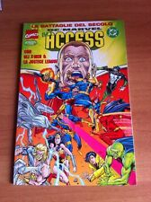 ACCESS LE BATTAGLIE DEL SECOLO 14 ottimo MARVEL DC X-MEN JUSTICE LEAGUE