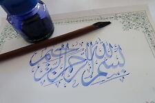 100% Natural Khat Pen Khot arabic calligraphy artist no bamboo