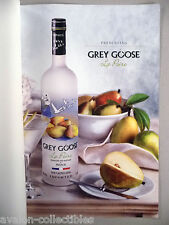 Grey Goose La Poire Pear-Flavored Vodka 2-Page PRINT AD - 2007