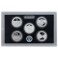 2011 S Proof Parks Quarter Set ATB 90% Silver No Box or COA 5 Coins US Mint