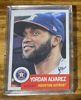 2020 Topps Living Baseball Card of Yordan Alvarez - RC - # 289 w/ free shipping!